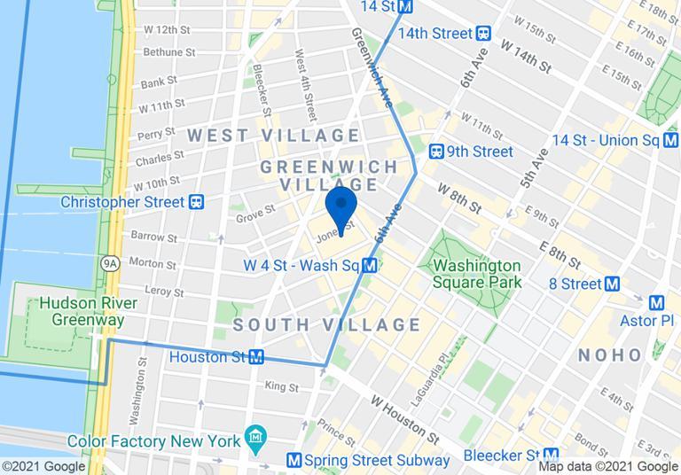 14 Jones Street Greenwich Village New York NY 10014