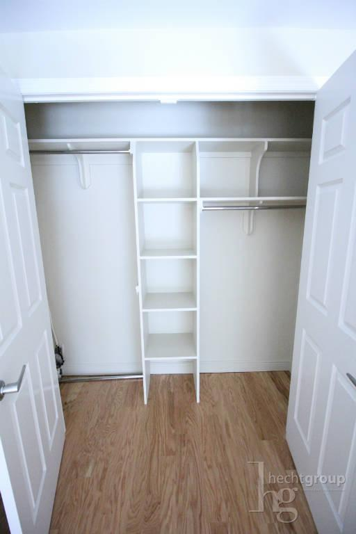 One of many huge closets