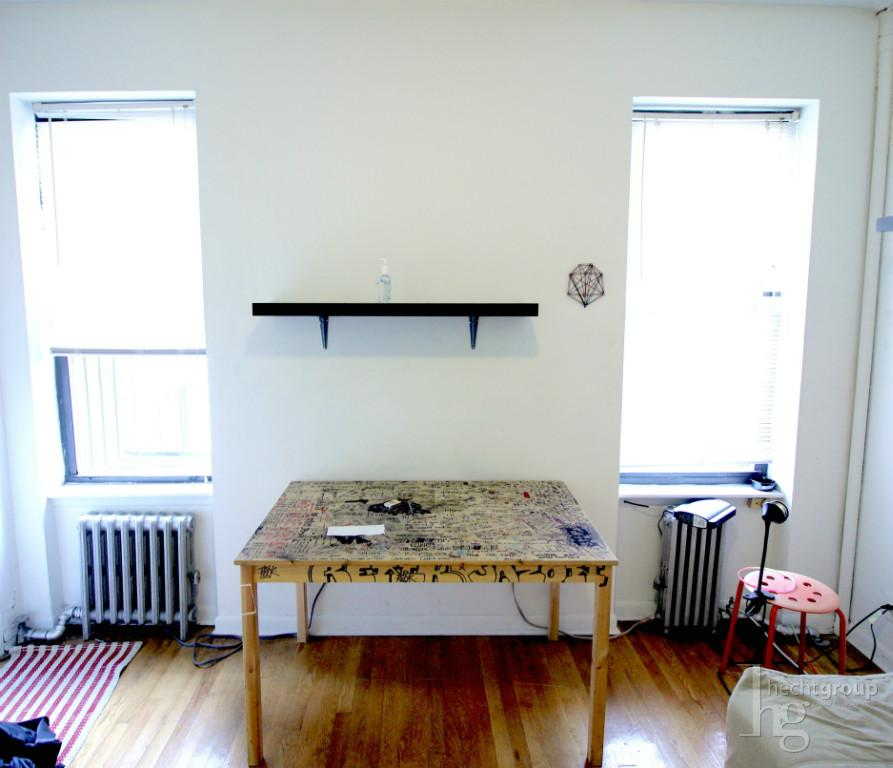 East-facing windows to allow in lots of light