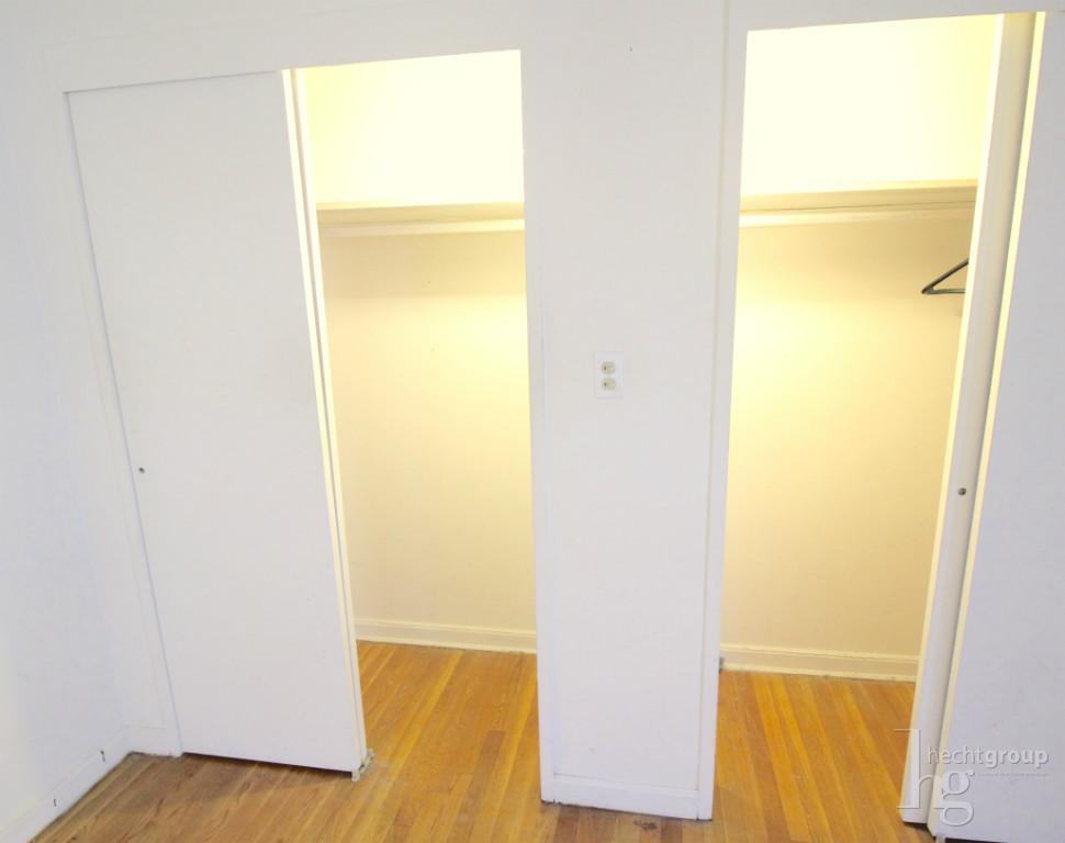 Living room closets