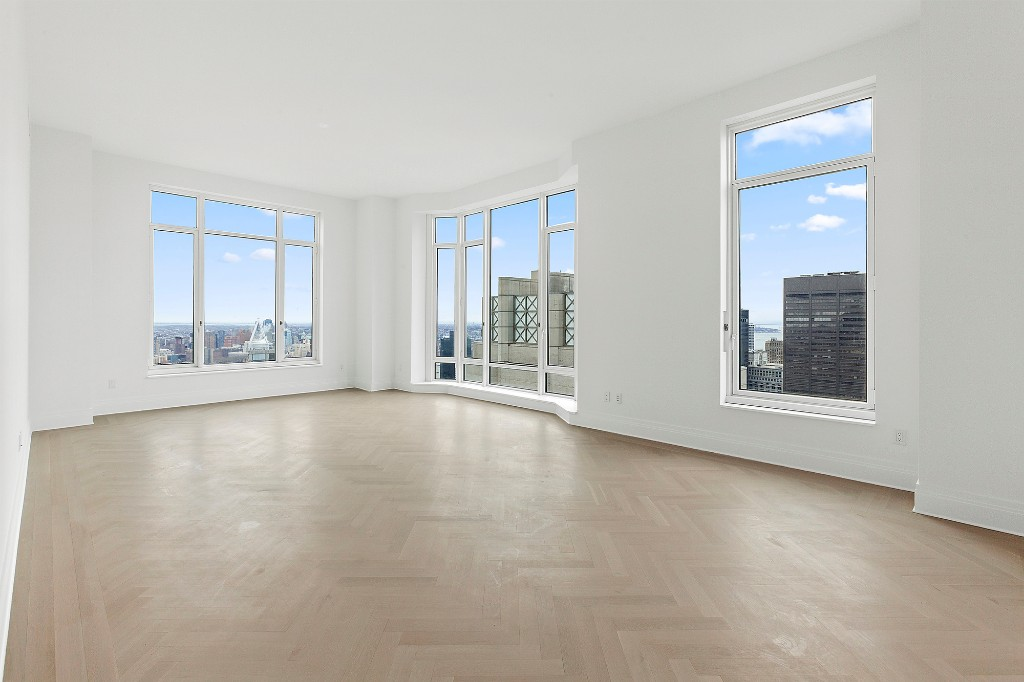 AVAILABLE JANUARY 1, 2019 * 6 month leases or longer allowed. Enjoy this three bedroom corner unit on the 67th floor at the Four Seasons, with open South and East views. Postcard sunrise overlooking East River and Brooklyn and open southern exposure to Lower Manhattan and Hudson River. Separate galley kitchen with appliances that vent out, high ceilings and extraordinary light in every room. California Closets and electric shades/blinds in every room further enhance this ready to move apartment. Just bring your suitcases! Experience the award-winning service, attention to every detail, and lifestyle that can only be had at a Four Seasons property. Critically acclaimed restaurant CUT by chef Wolfgang Puck at the lobby is becoming one of the hottest Downtown spots to see and be seen. Showing by appointment only.