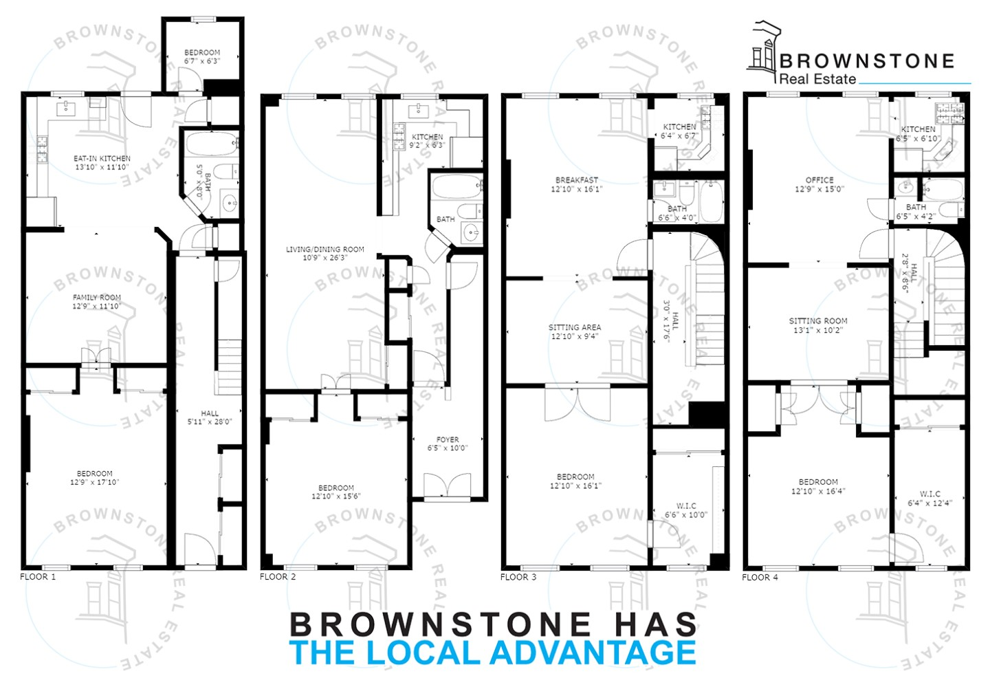 250 President St Brooklyn Ny 11231 Brooklyn Townhouses Carroll Gardens 7 Bedroom Townhouse For Sale