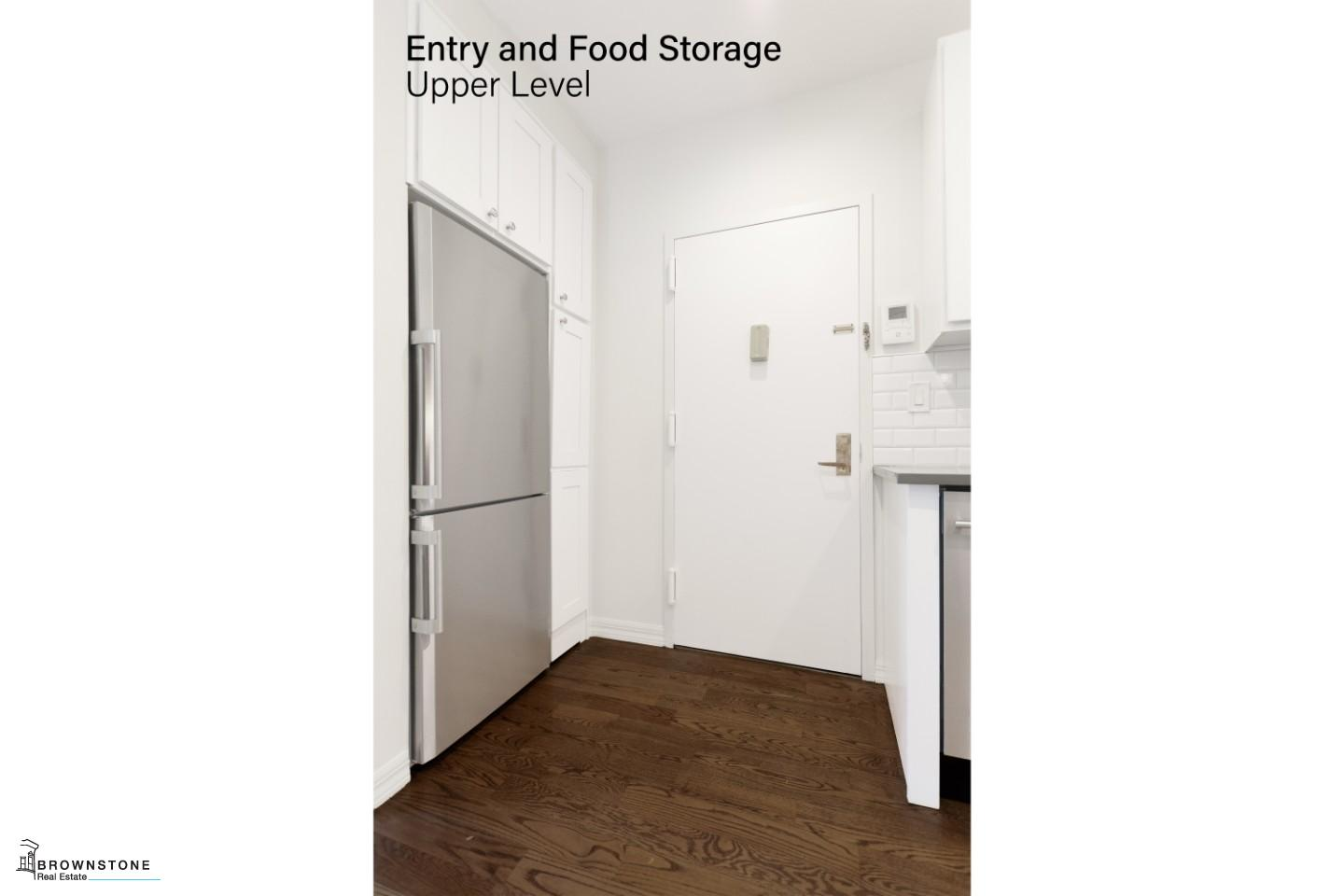 Entry & Food Storage Area