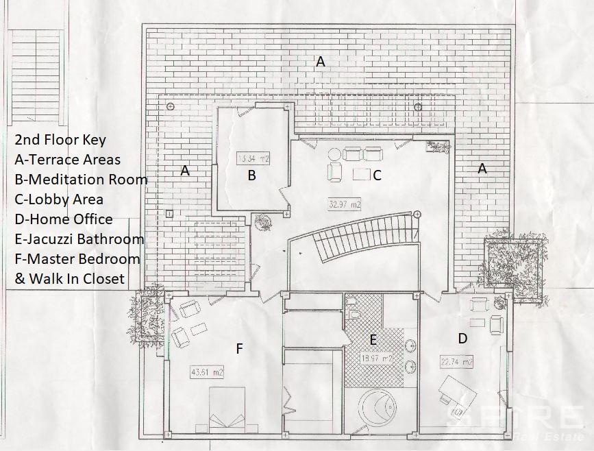 2nd Level Master Suite Plan