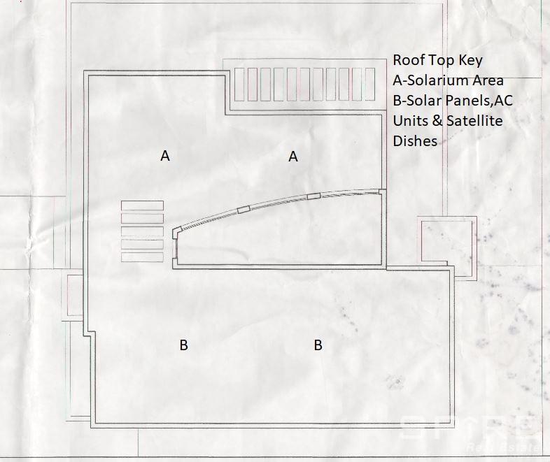 Roof Top Floor Plan