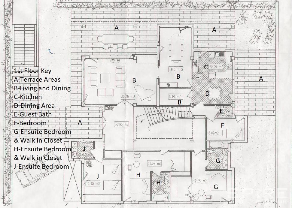 1st Level Floor Plan