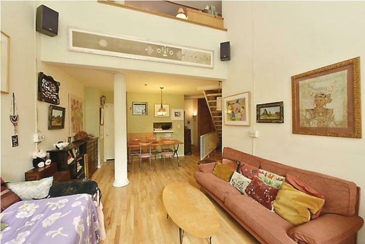 Living Room w/ Loft