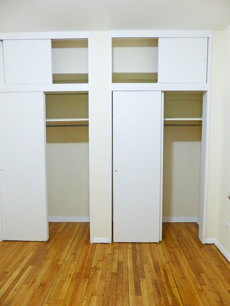 Bedroom - Double Closets
