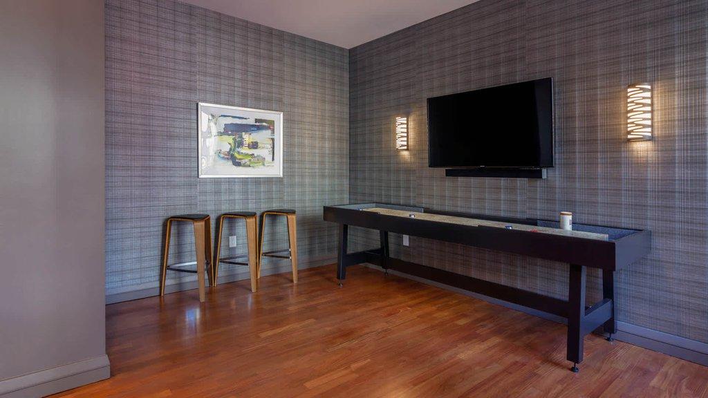 Lounge with Shuffleboard