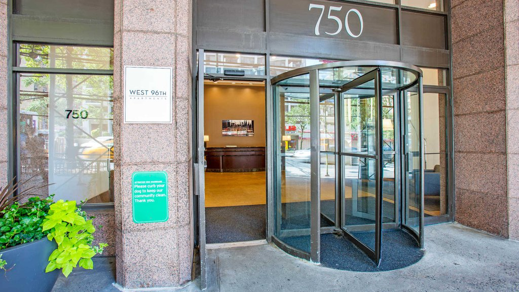 West 96th Apartments Entrance