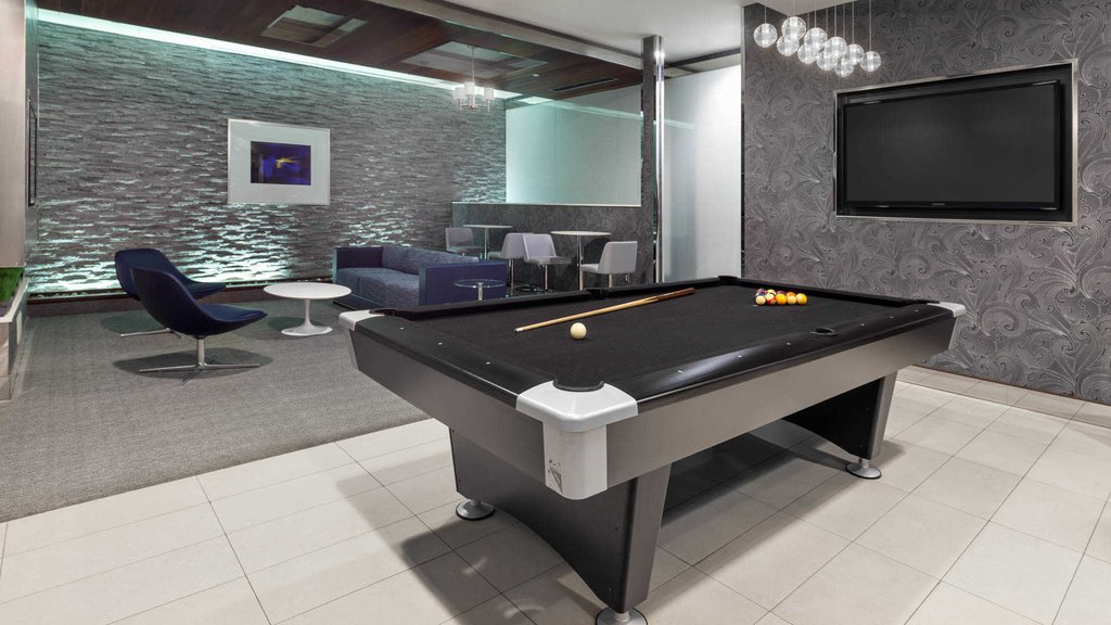 Resident Lounge with Billiard Table