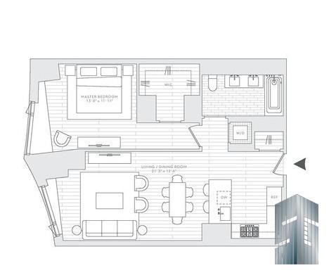Floor Plan Western Exposure