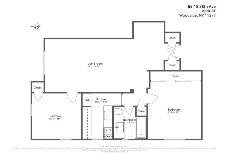 Apartment for sale at 65-15 38th Avenue, Apt 6T