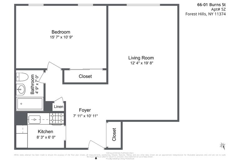 Apartment for sale at 66-01 Burns Street, Apt 5Z