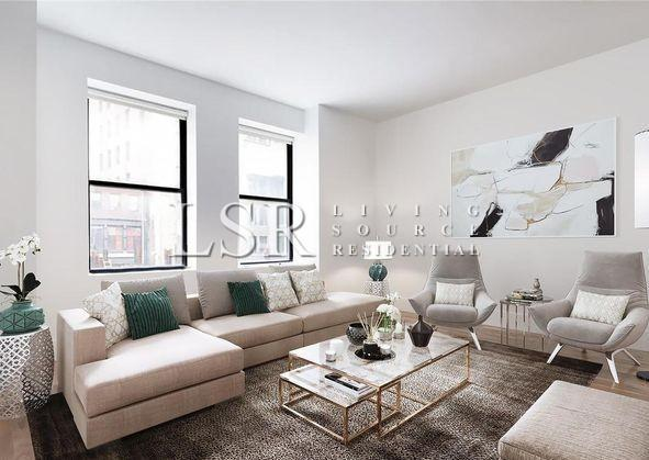 NYC Apartments: Financial District 2 Bedroom Apartment for Rent