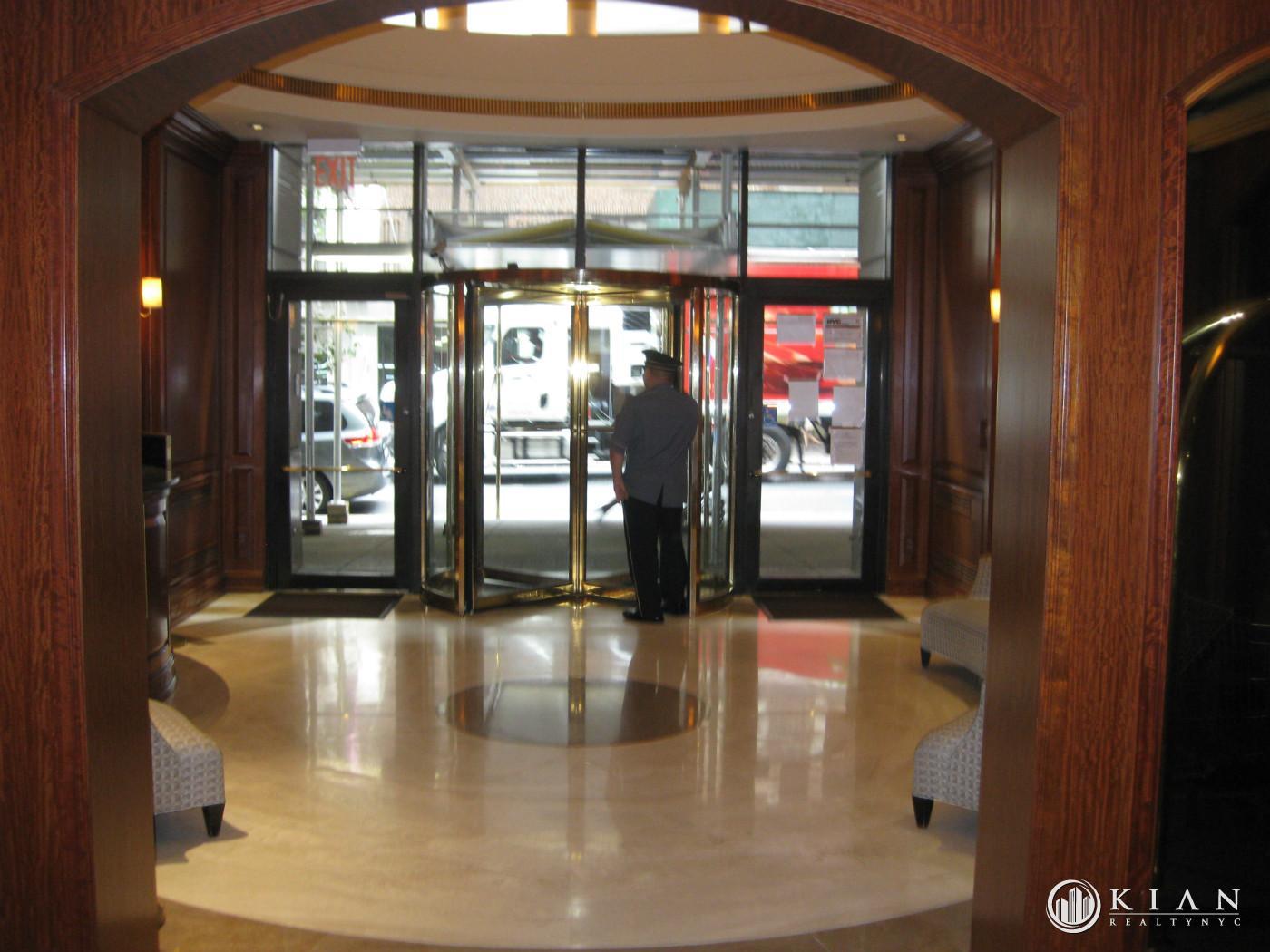 Lobby w/ Doorman
