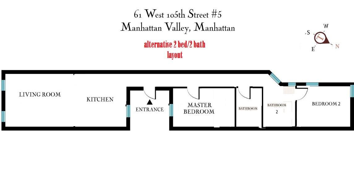 61 West 105th Street, Upper West Side, New York