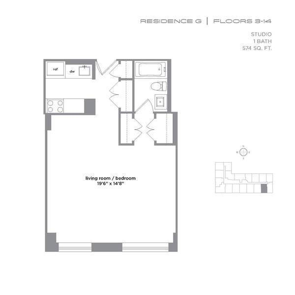 225 Rector Place, #9G