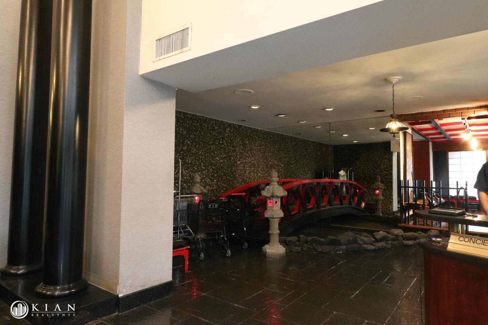 Lobby - to be renovated early 2020