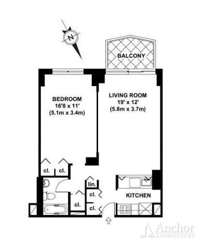 1 Bedroom Condo in Midtown East