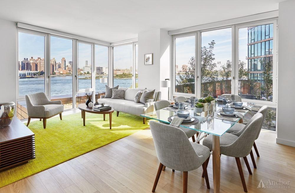 NO FEE! One Month free. Luxurious brand new waterfront building, Astoria, full service.
