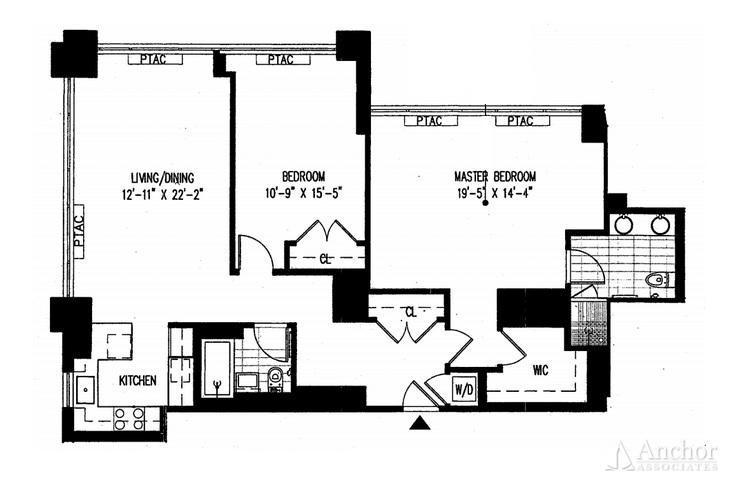 2 Bedroom Condo in Midtown