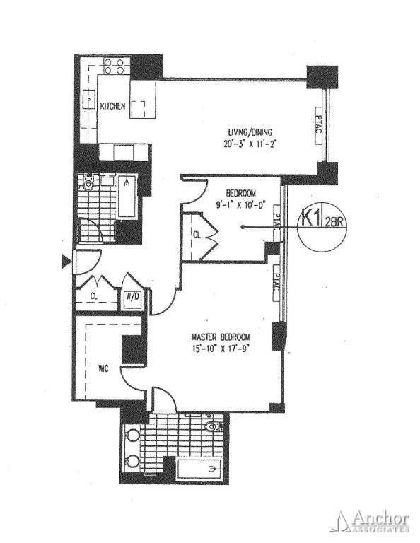 2 Bedroom Condo in Midtown