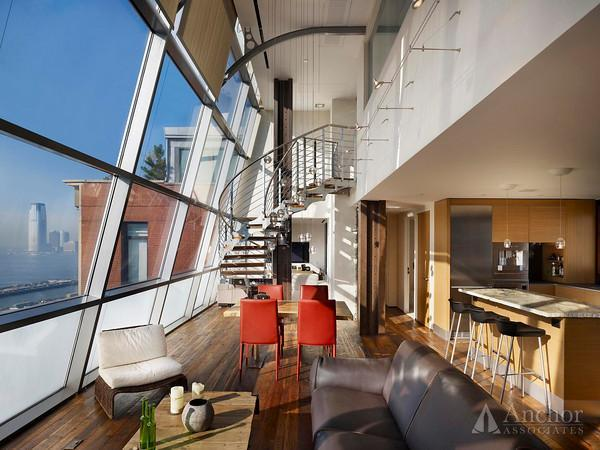 Sun blasted Penthouse in the heart of Tribeca with private roof top terrace