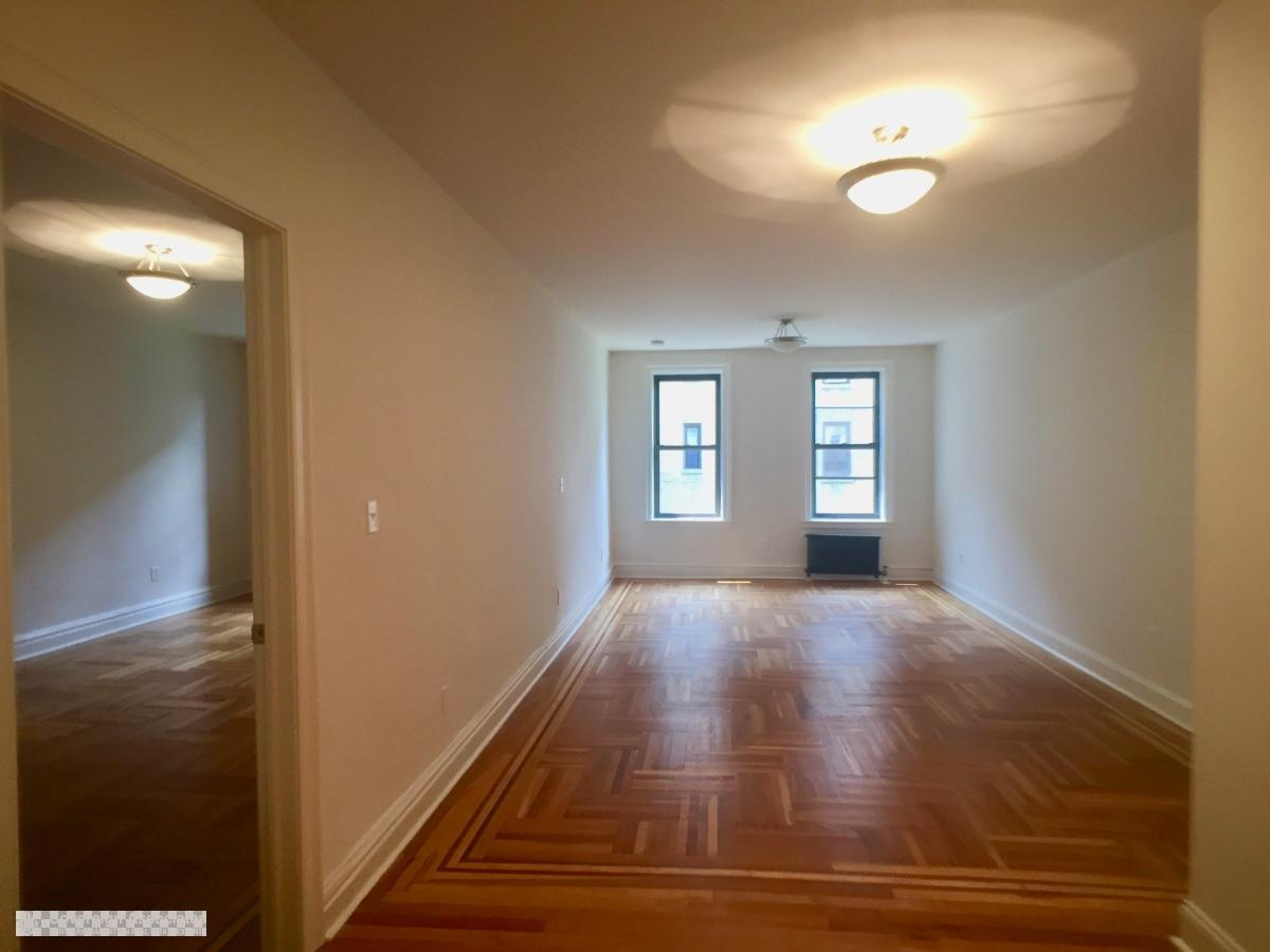 Livingroom in.  Bedroom on Left