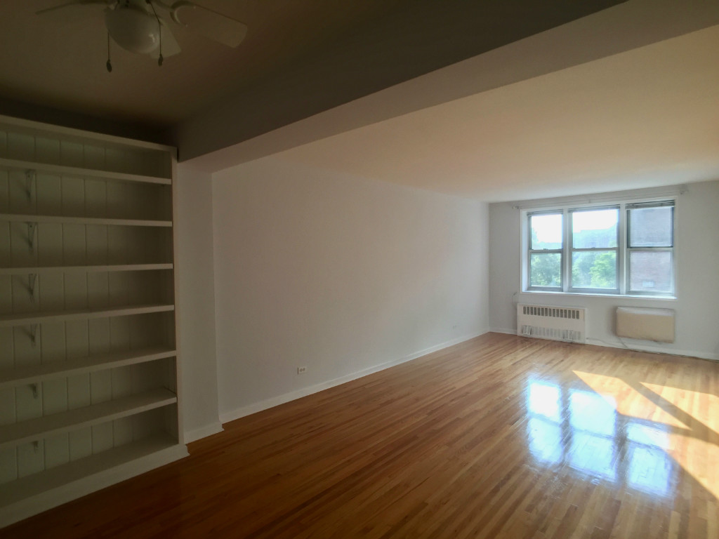Livingroom with Shelves