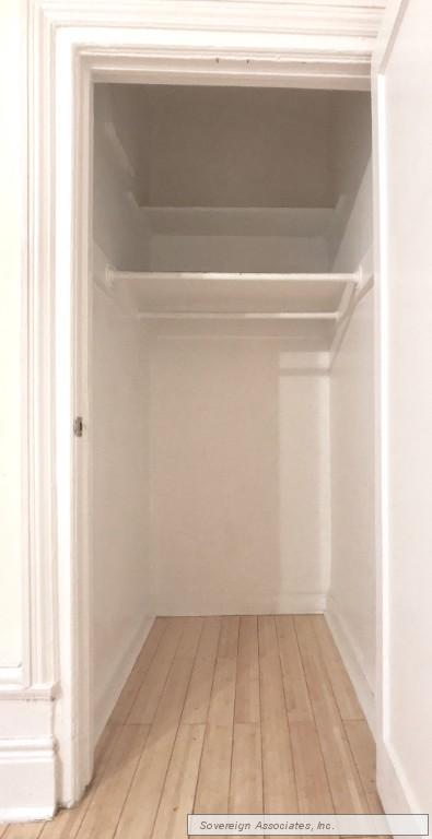 large WALK-IN-CLOSET off living room