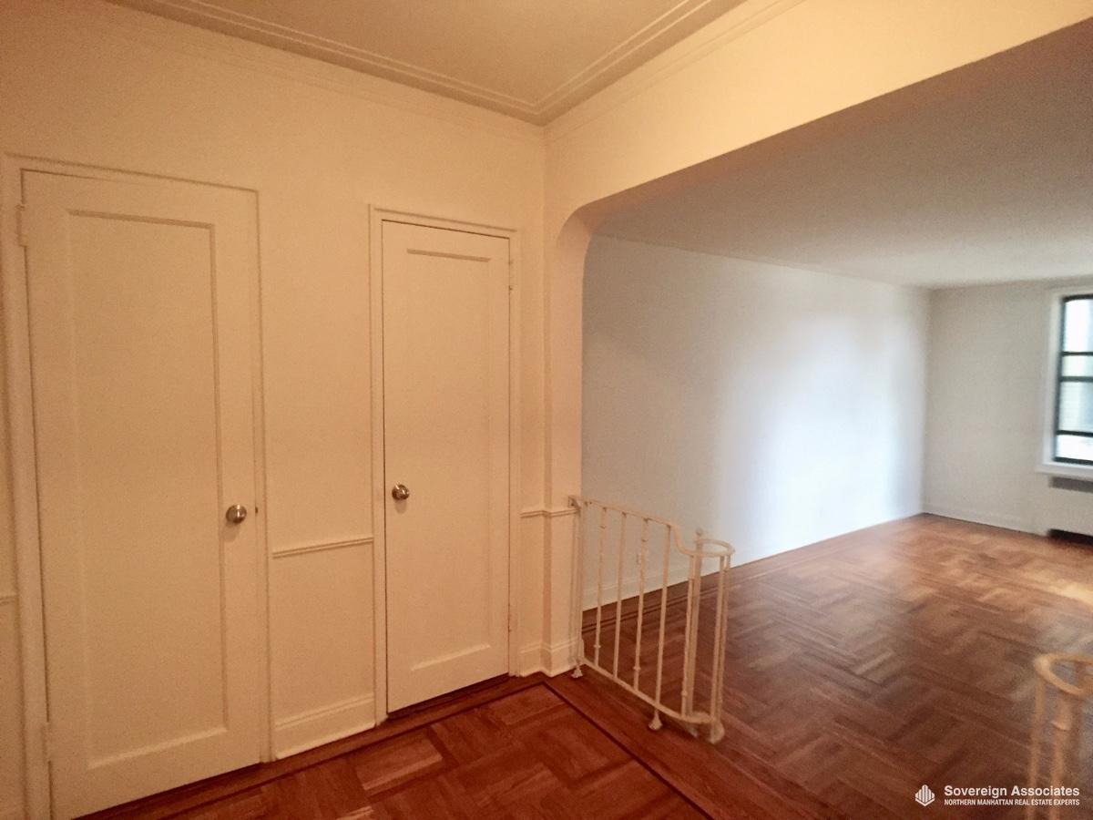 2 Closets in Foyer
