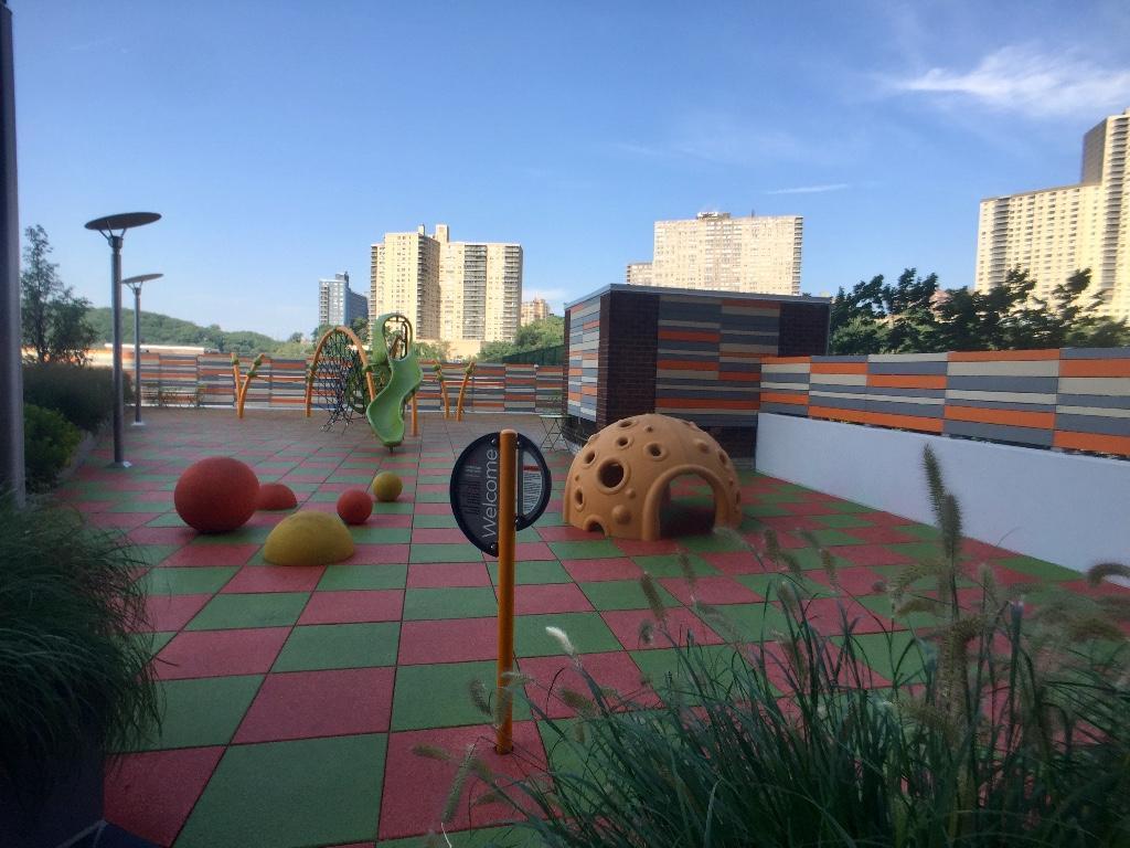 Promenade lobby-level playground