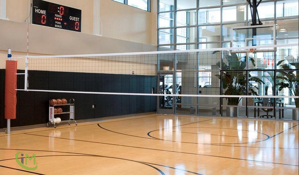 Basketball/ Volley Court