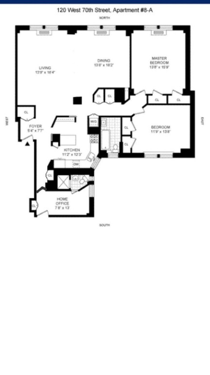 Apartment for sale at 120 West 70th Street, Apt 8A