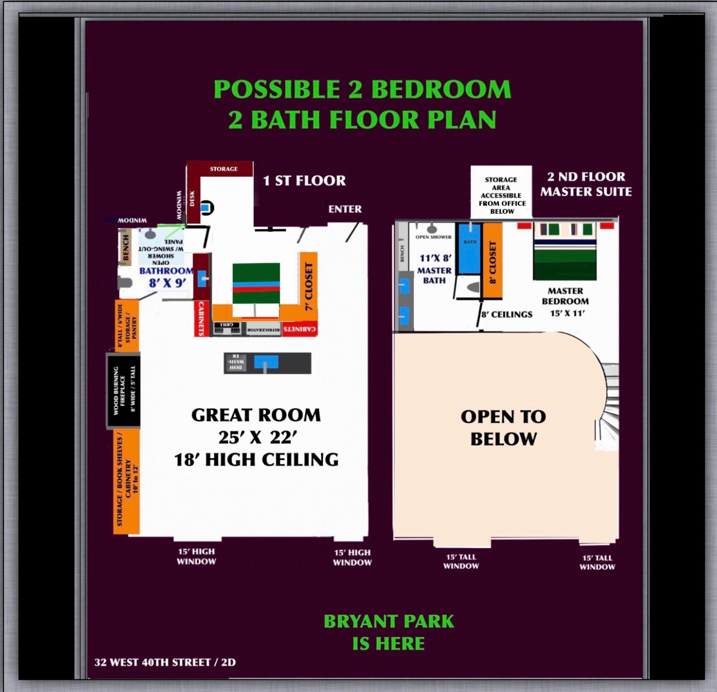 32 West 40th Street Midtown West New York NY 10018