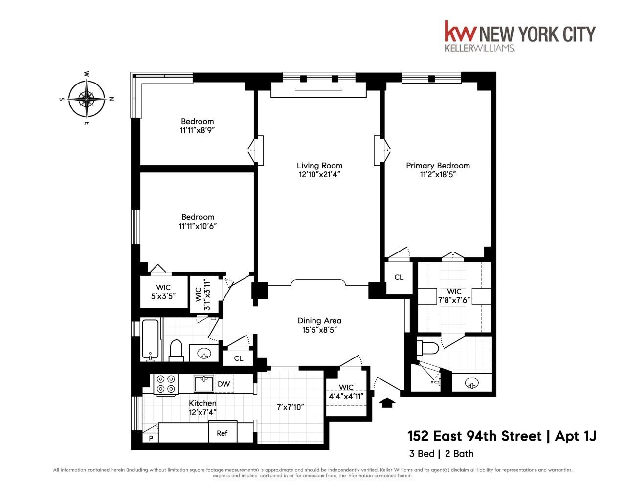 152 East 94th Street Upper East Side New York NY 10128
