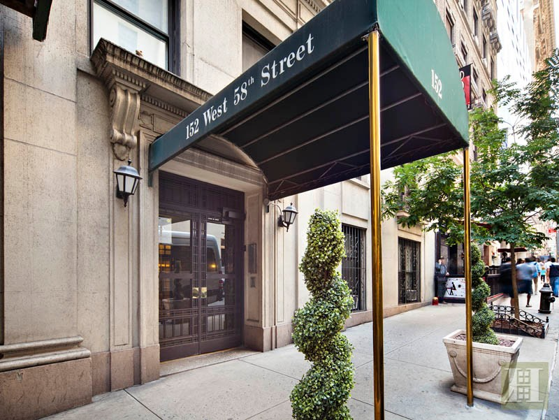 152 West 58th Street Midtown West New York NY 10019