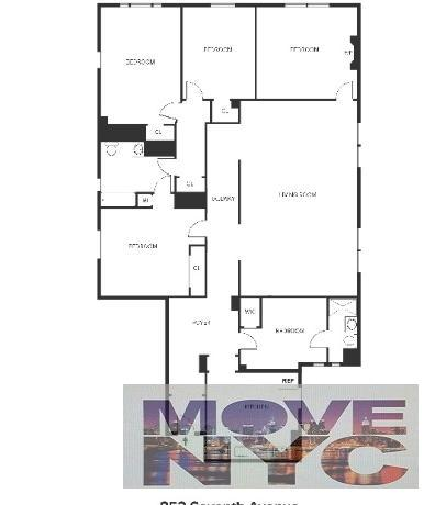 5 Apartment in Midtown West