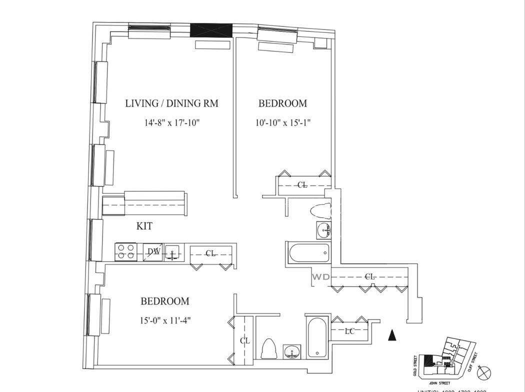 Apartment for sale at 99 John Street, Apt 1802