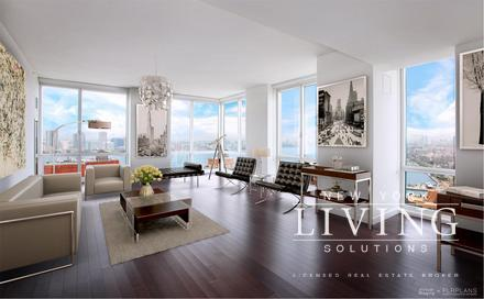 Battery Park City 3 Bedrooms Apartment For Rent Photo 1