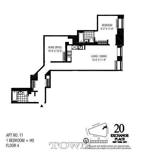 New York Apartments Financial District 2 Bedroom Apartment For Rent