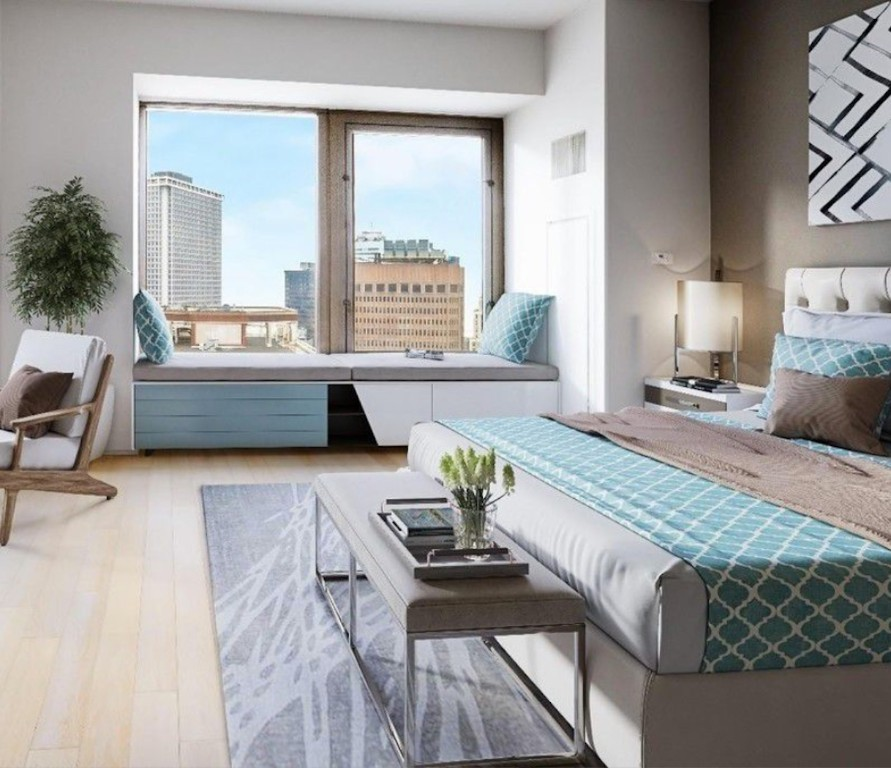 *Spectacular Unit at the Prestigious 75 Wall Residences!**RESIDENCE FEATURES:*-1.5 bathrooms w/ Botticino Semi Classico marble floors & surround sound.- Incredible City & River Views (South & West Exposures)- Chef's Kitchen - Caesarstone Countertops, Boffi Cabinetry, Sub-Zero, Lieberr, Bosch & Miele Appliances - Wide-Planked Cerused Oak Flooring- High Ceilings- Abundant Closet Space + Walk-In Closet- In-unit Washer/Dryer75 Wall Street defines world class luxury with a full-service lifestyle and an abundance of amenities. Designed by the award-winning Rockwell Group, the 42-story tower, located at Wall & Water streets, perfectly pairs a collection of 346 luxury residences with the Hyatt-managed Andaz Wall Street. Residents are free to indulge in integrated hotel services including room service, catering, housekeeping, on-site parking, and valet laundry, as well as a 24-hour concierge. Residents also gain access to the Ligne Roset-designed Club 75 Rooftop Lounge & Terrace, a Children's Playroom, a world-class fitness center, and 'Luxury Attache,' a premier lifestyle management service.For transportation: short walk to the South Street Helipad, Water Taxi/NY Waterway, NJ PATH, & 19 subway lines through the newly-constructed Fulton Center.* This unit has convertible 2 bedroom potential*