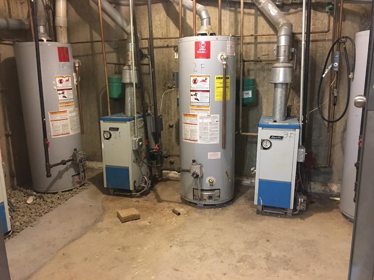 Boiler room A