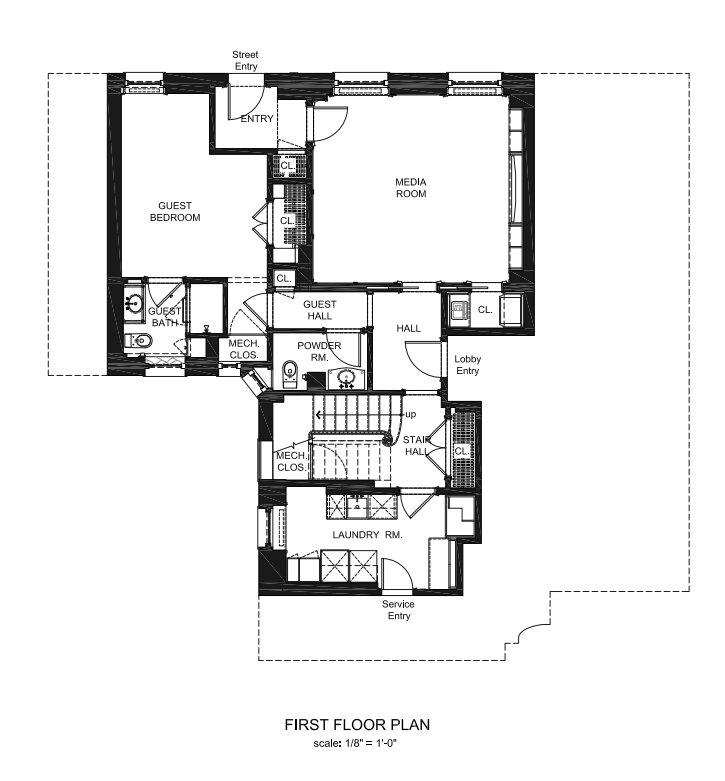 Floor Plan First Floor