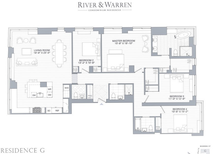 Floor Plan River & Warren 20 G