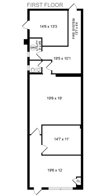 Building Two First Floor
