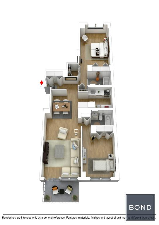 3D Floorplan 6A
