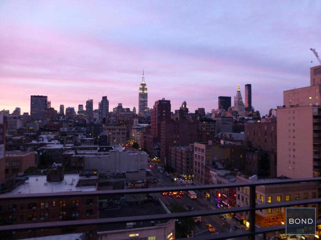 Twilight view  terrace.