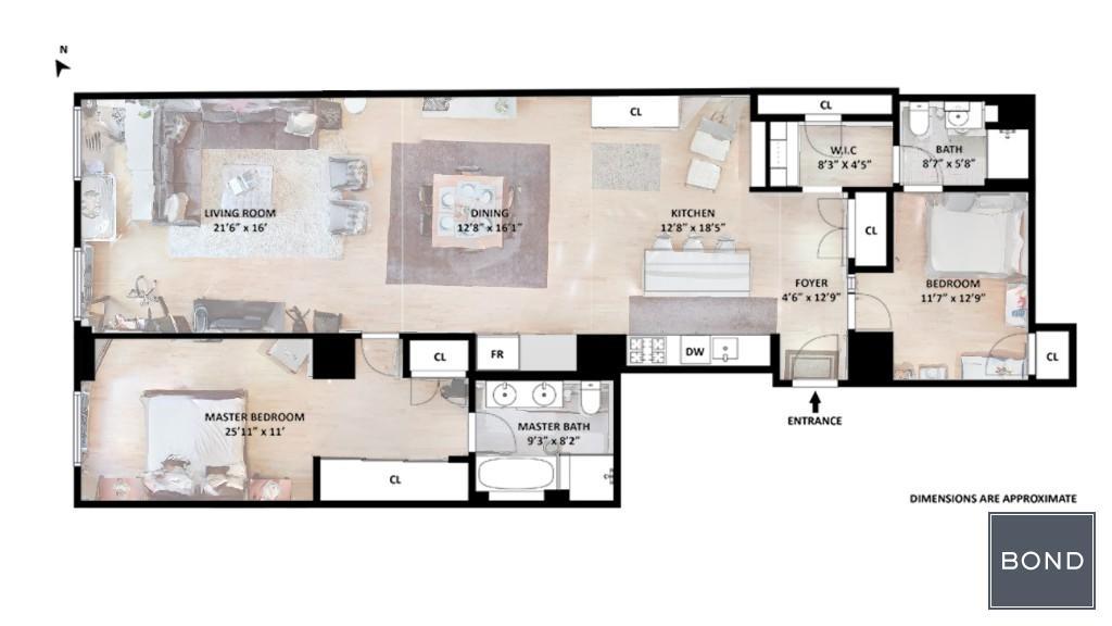 Texture Floor Plan